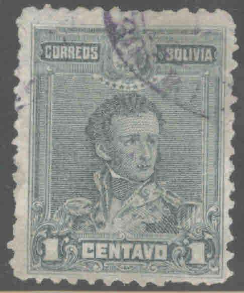 Bolivia Scott 62 Used 1899 stamp