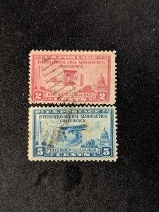 U.S. 649-50, F-VF, CV $4.05
