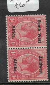 South West Africa SG 17 MOG (1dwd)