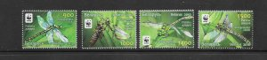 INSECTS - BELARUS #737-40  WWF  MNH