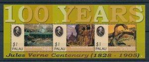 [107095] Palau 2005 Prehistoric animals dinosaurs Jules Verne Sheet MNH