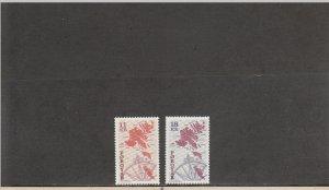 FAROE ISLANDS 319-320 MNH 2014 SCOTT CATALOGUE VALUE $7.40