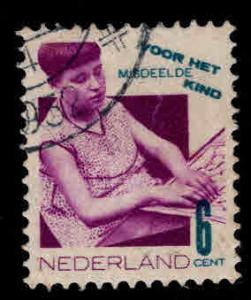 Netherlands Scott B52 Used 1931 semi-postal