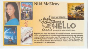 6° Cachets 4557 Pixar Films WALL-E Niki McElroy voice of Pool Mother