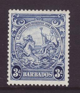 1947 Barbados 3d Mint