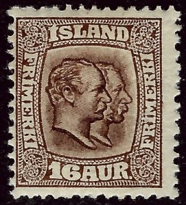 Iceland Attractive Sc#78 Mint F-VF hr...Worth a  Look!!