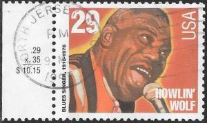 US 2861 Used - American Music Series - Jazz Singers - Howlin' Wolf (1910-76)