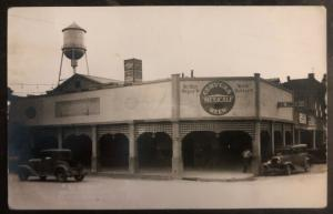 1945 Calexico CA USA RPPC Postcard Cover To Export Pa Mexicali Beer Building