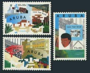 Aruba B32-B34,MNH. 1993.Youth Foreign Study Programs.