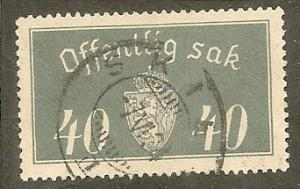 Norway     Scott O18   Arms     Used