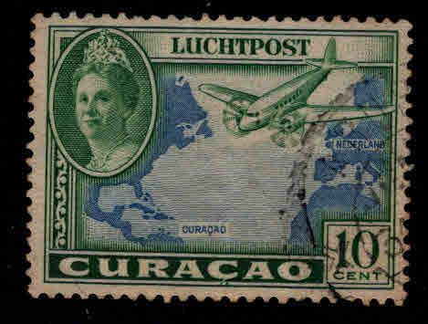 Netherlands Antilles Curacao  Scott C18 Airmail stamp