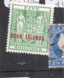 Cook Islands SG 123 MOG (4dlv)
