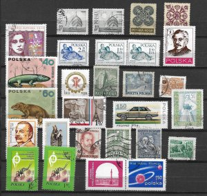 Poland - several issues Lot assortment - used