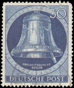 German Occupation #9N78, Incomplete Set, 1951-1952, Used
