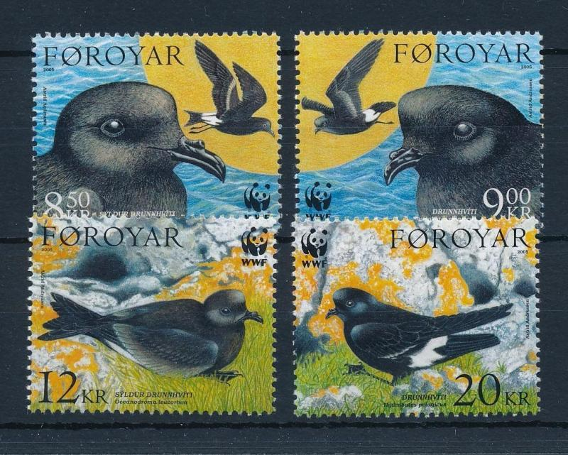 [53491] Faroe Islands 2005 Birds Vögel Oiseaux Ucelli WWF Swallow MNH