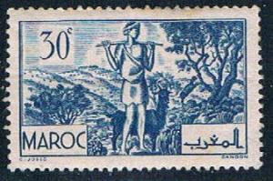 French Morocco 156 MLH Goatherd 1939 (F0120)+