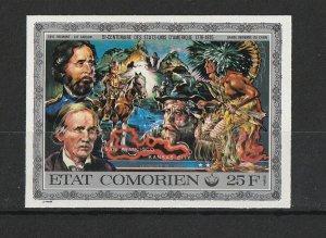 Comoro Island MNH M/S 166 U.S, Bicentennial