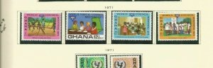 GHANA SCOTT 426-9 MNH