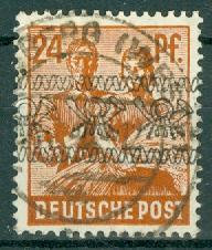 Germany - Posthorn Overprints - Scott 608