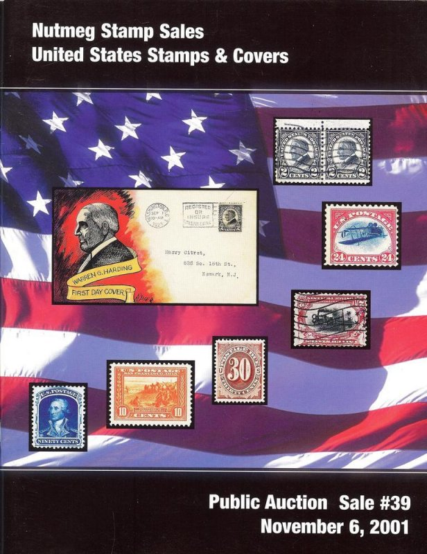 Nutmeg Stamp Sales - United States Stamps and Covers, Nut...