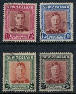 New Zealand #265-8  CV $6.50