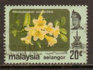 Malaya-Selangor  #140  used  (1979)