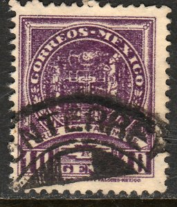 MEXICO 844, 10c 1934 Definitive Wmk Gobierno...279 Used. VF.  (926)