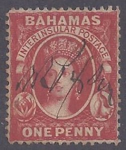 Bahamas scott #2 used VF
