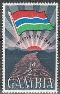 Gambia #206  MNH VF (V3665)