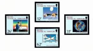 British Antarctic Territory 176-79 MNH 1991 Anarctic Ozone Hole
