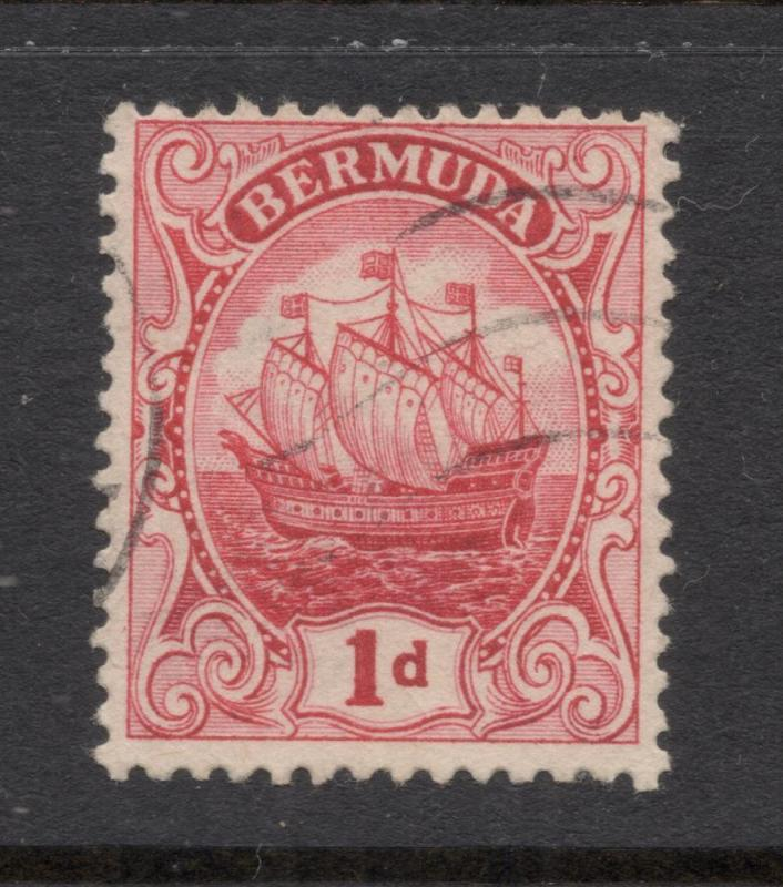 Bermuda #42b Rose Red - Light Cancel