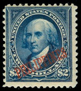 momen: US Stamps #224 PHILIPPINES MINT OG NH POST OFFICE FRESH