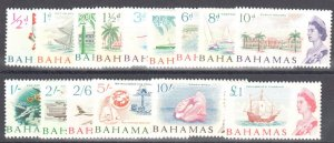 Bahamas 1965 SC #204-218 Mint H Set