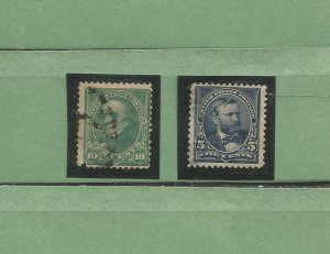United States Postage Stamps Used