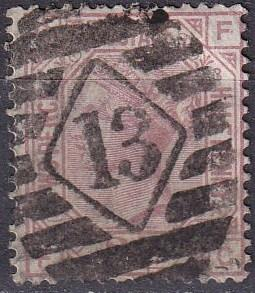 Great Britain #67 Plate 3 F-VF Used  CV $125.00 Z19