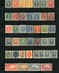 Venezuela General Range from 1900 to Include Sucre, Bolivar, Schools, Air Stamps