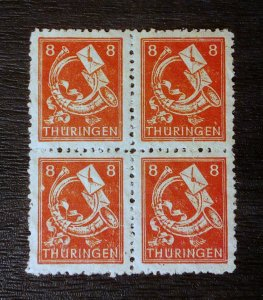 Germany Thuringen 96AY yy mnh