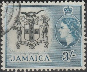 Jamaica, #171 Used From 1956
