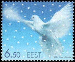 Estonia #429-430, Complete Set(2), 2001, Christmas, Never Hinged