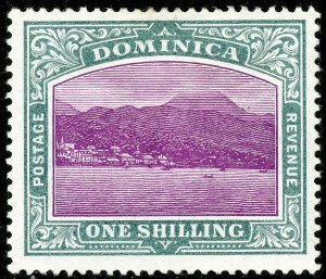 Dominica Stamps # 31 MLH VF