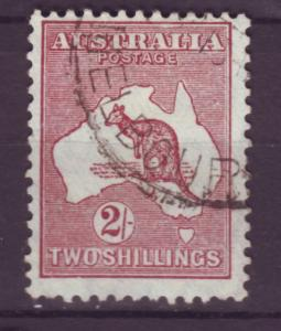 J12066 JL stamps 1931-6 australia used #125 kangaroo wmk 228