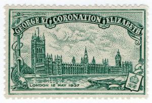 (I.B) Cinderella Collection : George VI Coronation 1937