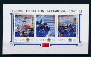 [81042] Nevis 2011 Second World war Operation Barbarossa Sheet MNH