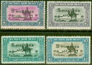 Sudan 1938 Set of 4 SG74-77 Fine Very Lightly Mtd Mint
