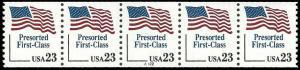 PCBstamps  US #2605 CPS  23c Flag, Pre-Sort, (A112), MNH, (1)