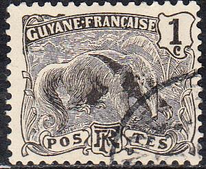 French Guinea #51 Used