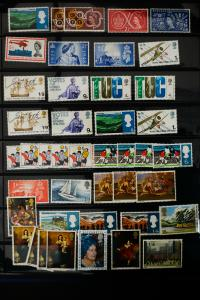 Great Britain Mostly Mint Stamp Collection