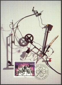 Liechtenstein 1994 Contemporary Art Maxi Card FDC