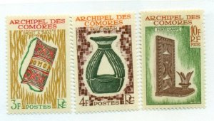 COMORO ISLAND #57-9, Mint Never Hinged, Scott $16.25