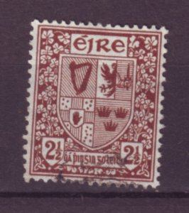 J20711 Jlstamps 1940-2 ireland used #110 arms wmk 262